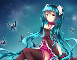 Rating: Safe Score: 28 Tags: 7th_dragon_2020-ii dress hatsune_miku headphones thighhighs wsman User: charunetra