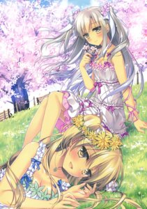 Rating: Safe Score: 50 Tags: cleavage dress motomiya_mitsuki summer_dress User: Twinsenzw