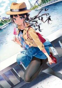 Rating: Safe Score: 67 Tags: adagaki_aki heels masamune-kun_no_revenge pantyhose skirt_lift tiv User: Twinsenzw