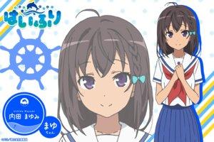 Rating: Questionable Score: 20 Tags: high_school_fleet seifuku uchida_mayumi wallpaper User: Korino