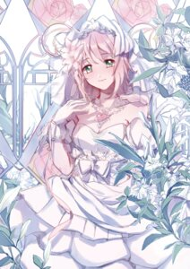 Rating: Safe Score: 28 Tags: cleavage dress estellise_sidos_heurassein mao_(akari) tales_of tales_of_vesperia wedding_dress User: Mr_GT