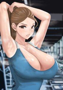 Rating: Questionable Score: 11 Tags: cleavage lim_(fle_en97) no_bra wet User: mash