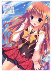 Rating: Questionable Score: 55 Tags: himeyuri_megumi hook sakura_hanpen seifuku sugirly_wish User: Twinsenzw