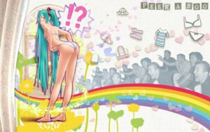 Rating: Questionable Score: 44 Tags: ass bra hatsune_miku pantsu photo vocaloid wokada User: RaulDJ747