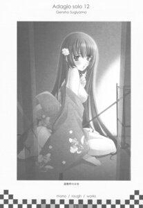 Rating: Questionable Score: 8 Tags: breasts genshou_koubou kimono monochrome nipples sugiyama_genshou User: Radioactive