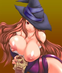 Rating: Questionable Score: 45 Tags: breasts dragon's_crown erect_nipples nipples nopan oohira_sansetto sorceress User: Zenex