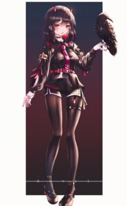 Rating: Safe Score: 14 Tags: domi_(hongsung0819) garter heels horns pantyhose tattoo User: Mr_GT