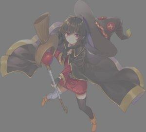 Rating: Safe Score: 11 Tags: bandages dress kono_subarashii_sekai_ni_shukufuku_wo! megumin mishima_kurone thighhighs weapon witch User: zyll