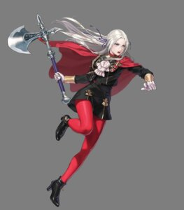 Rating: Questionable Score: 2 Tags: edelgard_(fire_emblem) fire_emblem fire_emblem_heroes fire_emblem_three_houses heels nintendo pantyhose suda_ayaka uniform weapon User: fly24