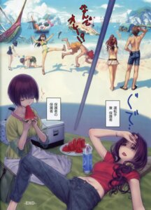 Rating: Safe Score: 21 Tags: aozaki_aoko bikini cleavage kinomi_housuke koyama_hirokazu kumari_kojika kuonji_alice mahou_tsukai_no_yoru shizuki_soujuurou suse_ritsuka suse_yuika swimsuits type-moon User: Radioactive