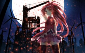 Rating: Safe Score: 36 Tags: dress puella_magi_madoka_magica sakura_kyouko thighhighs uneune weapon User: Spidey