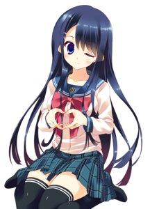 Rating: Safe Score: 31 Tags: arikawa_satoru dangan-ronpa maizono_sayaka seifuku thighhighs User: 椎名深夏