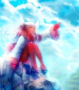 Rating: Safe Score: 4 Tags: ayamori_mimi crested_ibis kemono_friends pantyhose wings User: animeprincess