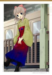Rating: Safe Score: 10 Tags: japanese_clothes mibu_natsuki tetsudou_musume yagisawa_mai User: fireattack