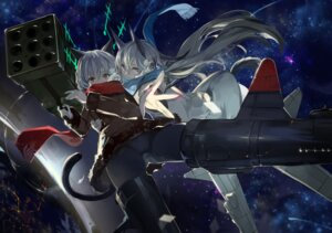Rating: Questionable Score: 32 Tags: animal_ears cameltoe eila_ilmatar_juutilainen pantyhose saberiii sanya_v_litvyak strike_witches tail weapon User: zero|fade