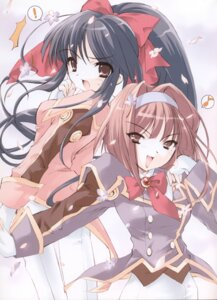 Rating: Safe Score: 4 Tags: ito_noizi sakura_taisen shinguuji_sakura sumire_kanzaki User: Radioactive