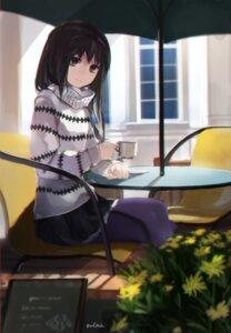 Rating: Safe Score: 35 Tags: akemi_homura pantyhose puella_magi_madoka_magica swd3e2 sweater User: Mr_GT