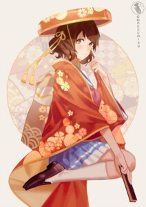 Rating: Safe Score: 44 Tags: hibike!_euphonium japanese_clothes norizc oumae_kumiko seifuku User: Mr_GT