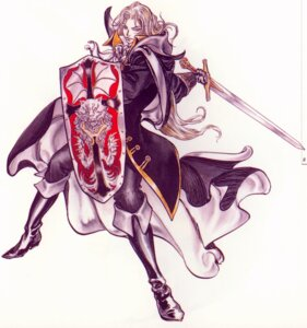 Rating: Safe Score: 11 Tags: alucard_(castlevania) castlevania castlevania:_symphony_of_the_night kojima_ayami konami male sword User: keri-sama