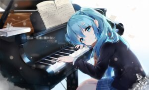 Rating: Safe Score: 102 Tags: hatsune_miku kuroi_asahi seifuku vocaloid User: RyuZU