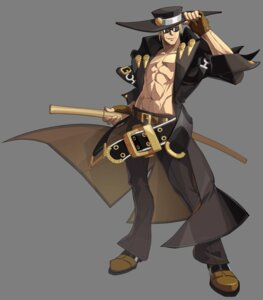 Rating: Questionable Score: 6 Tags: guilty_gear guilty_gear_xrd_revelator johnny male sword transparent_png User: Yokaiou