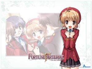 Rating: Safe Score: 7 Tags: bekkankou fortune_arterial seifuku wallpaper yuuki_kanade User: admin2