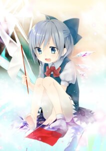 Rating: Safe Score: 20 Tags: cirno touhou tsukimiya_sei wings User: 椎名深夏