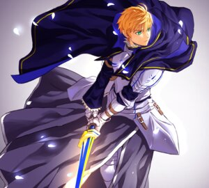 Rating: Safe Score: 6 Tags: armor atomel fate/grand_order fate/prototype fate/stay_night male saber_(fate/prototype) sword User: charunetra