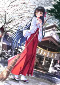 Rating: Safe Score: 36 Tags: japanese_clothes miko swordsouls User: Mr_GT