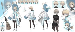 Rating: Questionable Score: 10 Tags: character_design chibi expression garter pantyhose soyoong_jun tail witch User: Dreista