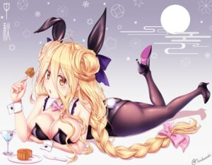 Rating: Questionable Score: 67 Tags: animal_ears ass breast_hold bunny_ears bunny_girl cleavage date_a_live heels hoshimiya_mukuro pantyhose signed tail tsubasaki User: RyuZU