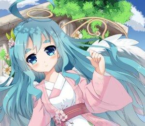 Rating: Safe Score: 30 Tags: l4no-shiro shiro_sakamachi wings User: L4No