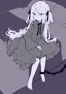 Rating: Safe Score: 27 Tags: bondage dress gothic_lolita lolita_fashion mochizuki_kei monochrome User: Debbie