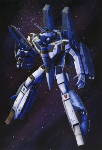 Rating: Safe Score: 3 Tags: macross mecha tenjin_hidetaka the_super_dimension_fortress_macross User: Radioactive
