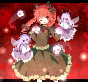 Rating: Safe Score: 17 Tags: animal_ears kaenbyou_rin munyunyu nekomimi touhou User: Nekotsúh