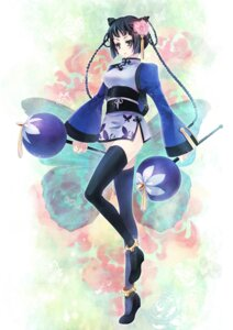 Rating: Safe Score: 8 Tags: chinadress kuroshitsuji momoko ranmao thighhighs User: charunetra