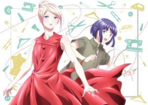 Rating: Safe Score: 6 Tags: dress fujito_chiyuki runway_de_waratte skirt_lift tagme tsumura_ikuto User: blooregardo