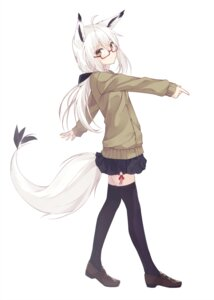 Rating: Safe Score: 77 Tags: animal_ears megane nagishiro_mito seifuku sweater tail thighhighs User: nphuongsun93