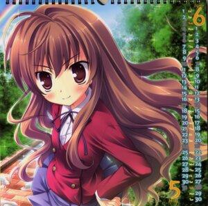 Rating: Safe Score: 16 Tags: aisaka_taiga calendar ikegami_akane seifuku toradora! User: admin2