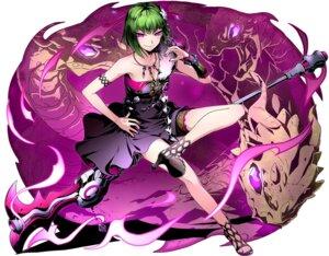 Rating: Safe Score: 23 Tags: divine_gate dress garter heels ucmm weapon User: saemonnokami