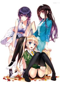 Rating: Questionable Score: 30 Tags: misaki_kurehito possible_duplicate saenai_heroine_no_sodatekata User: Twinsenzw