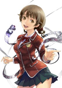 Rating: Safe Score: 54 Tags: guilty_crown menjou_hare redjuice seifuku User: Radioactive