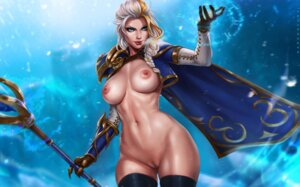 Rating: Explicit Score: 41 Tags: armor dandon_fuga jaina_proudmoore naked_cape nipples pussy thighhighs uncensored weapon world_of_warcraft User: Radioactive
