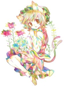 Rating: Safe Score: 16 Tags: animal_ears chen legomaru nekomimi tail touhou User: Radioactive