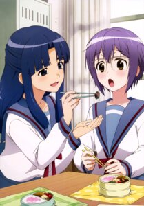 Rating: Safe Score: 38 Tags: asakura_ryouko megane nagato_yuki nagato_yuki-chan_no_shoushitsu seifuku User: drop