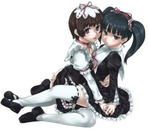 Rating: Safe Score: 36 Tags: asanagi coyote_ragtime_show lolita_fashion thighhighs yuri User: Radioactive