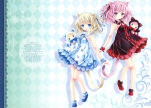 Rating: Safe Score: 25 Tags: animal_ears dress heels lolita_fashion nekomimi tail tinkerbell tinkle User: kiyoe