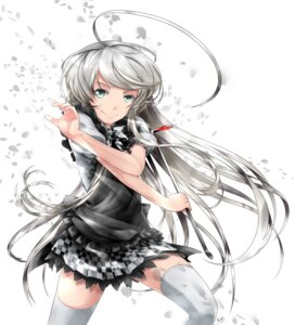 Rating: Safe Score: 21 Tags: haiyore!_nyaruko-san jpeg_artifacts nyaruko saiki thighhighs User: Radioactive