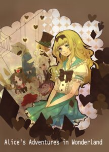 Rating: Safe Score: 13 Tags: alice alice_in_wonderland cheshire_cat dress mad_hatter senano_yuu white_rabbit User: charunetra