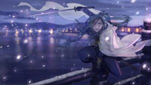 Rating: Safe Score: 13 Tags: male nikkari_aoe sword touken_ranbu wallpaper User: joshuagraham